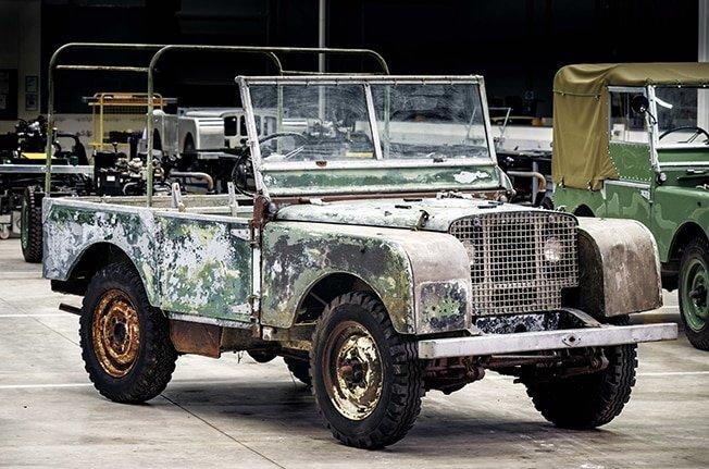 Land Rover anniversary begins with restoration of original