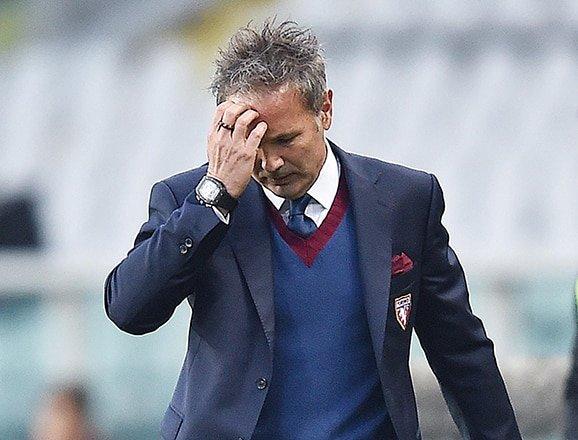 Torino sack coach Mihajlovic after Juventus defeat