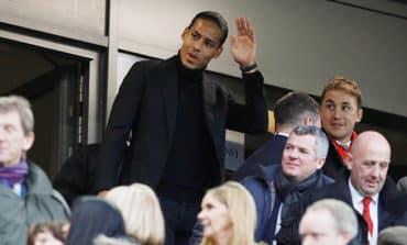 Liverpool's Van Dijk primed for derby debut