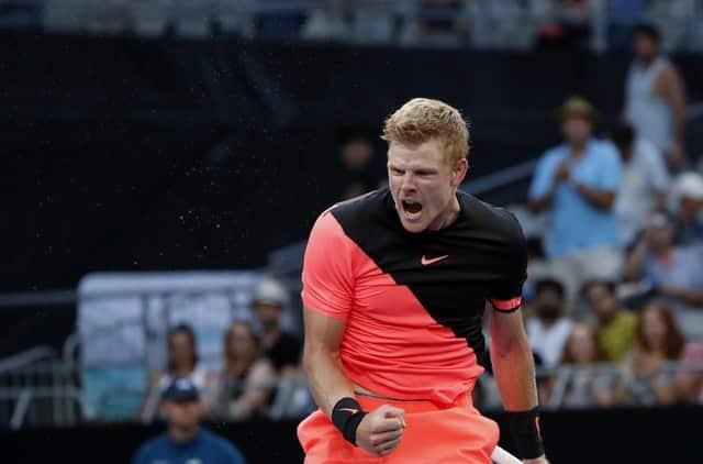 Briton Edmund reaches first grand slam quarter-final, Nadal through as well