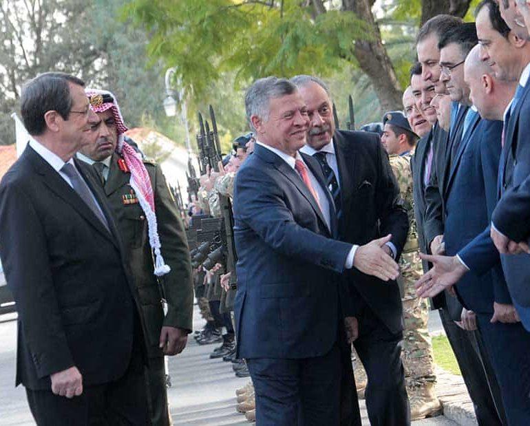 Cyprus, Greece and Jordan underline close co-operation