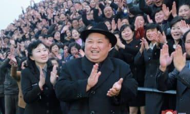 N.Korea's Kim Jong Un, wife watch S.Korean K-pop stars perform in Pyongyang