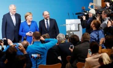 German SPD leader 'dampens hopes for quick deal' (Update)