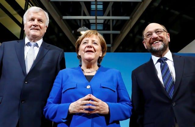 Merkel's conservatives, SPD agree coalition blueprint