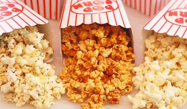 Popcorn, sweet popcorn at K Cineplex