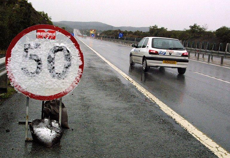 Dangerous driving conditions