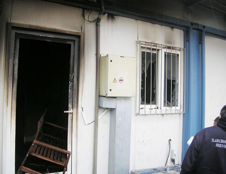Asylum seekers set fires, cause ruckus at Kofinou, two remanded (Update2 )