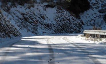 Troodos roads open but slippery