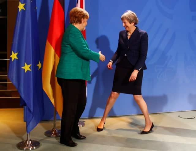 "Brexit deal should strike ""fair balance"", says Merkel"