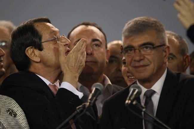 President Nicos Anastasiades re-elected (VIDEO)