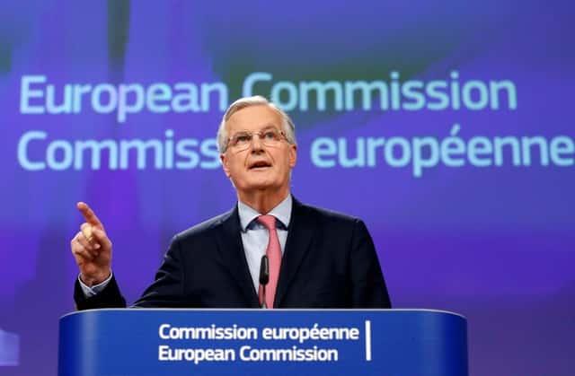 EU's Barnier warns Britain post-Brexit transition 'not a given'