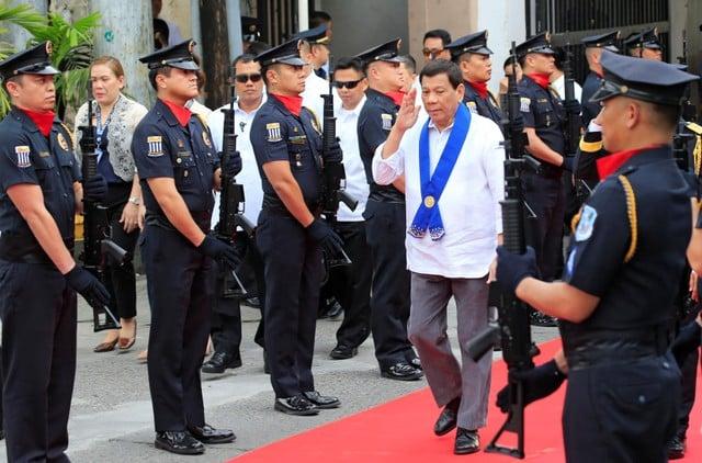 Shoot me, don't jail me, Duterte tells Hague court prosecutor