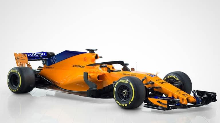 McLaren show true colours as new car unveiled
