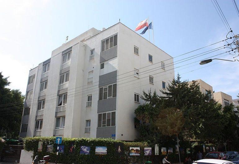 Swastikas, slurs daubed on Polish embassy in Tel Aviv