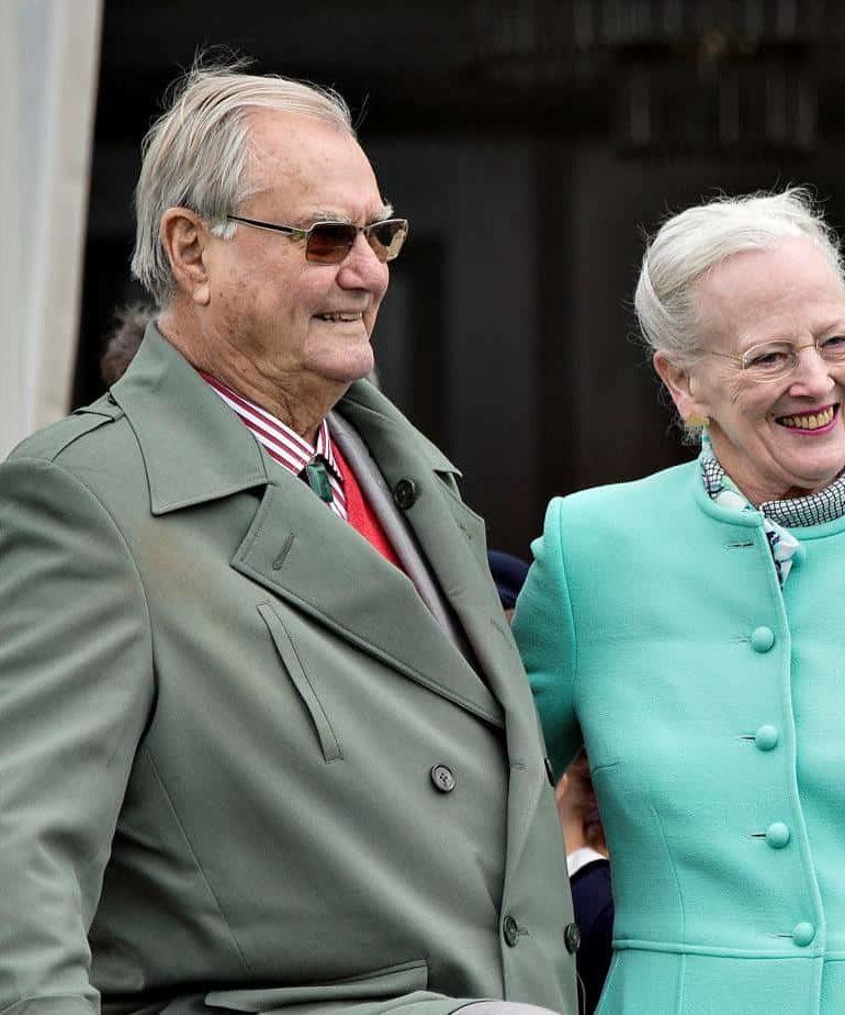 Danish Queen's husband Prince Henrik dies