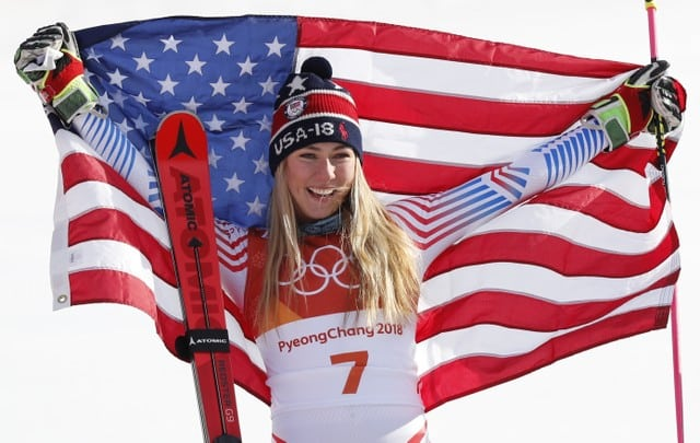 After 'kind of puking,' Shiffrin in 4th after 1st slalom run