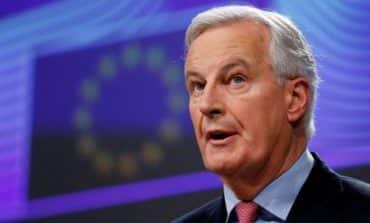 EU drafts N. Ireland control, urges faster Brexit talks