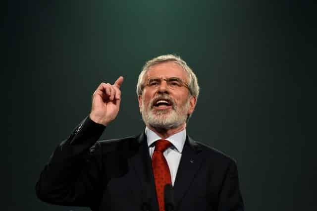 McDonald succeeds Gerry Adams as Sinn Fein president