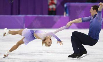 Record-breaking German pair soar to stunning gold