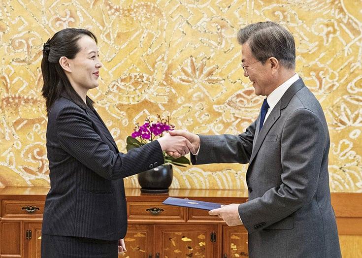 North Korea's Kim invites S. Korean president for summit