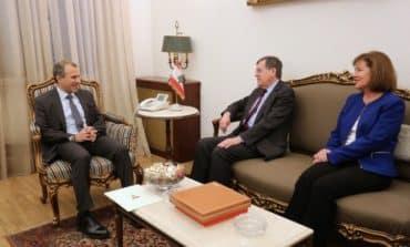US envoy visits Beirut, mediating in Lebanon-Israel dispute