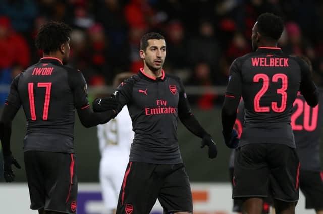 Mkhitaryan backs Arsenal to win Europa League