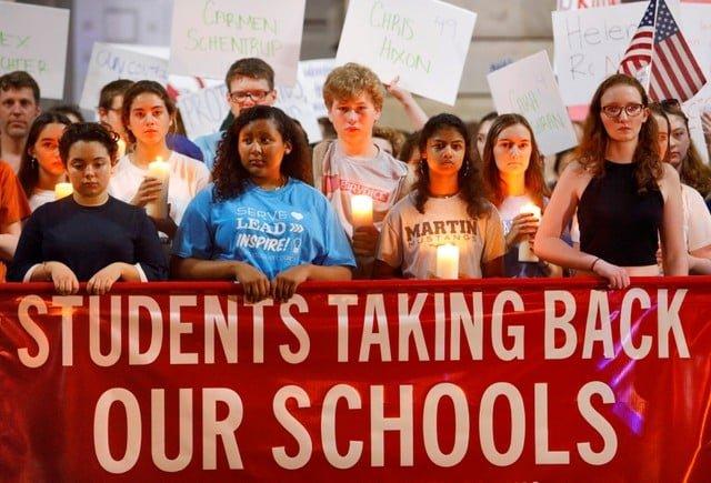 Florida school survivors push lawmakers for assault gun ban