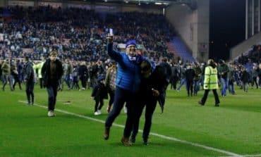 Grigg's on fire as Wigan stun 10-man Man City in FA Cup