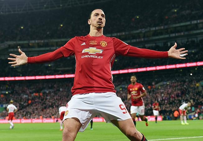 Ibrahimovic leaves Man United