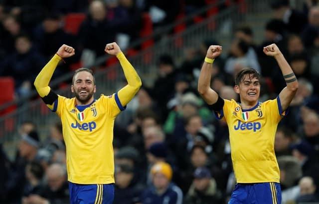 Higuain and Dybala stun Spurs to send Juventus through
