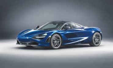 Bespoke McLaren unveiled at Geneva
