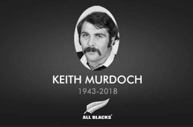 Enigmatic All Blacks prop Murdoch dies aged 74