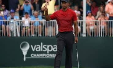 Tiger produces old magic, but falls short of win