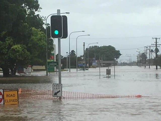 'Water as far as eye can see' as floods hit Australia