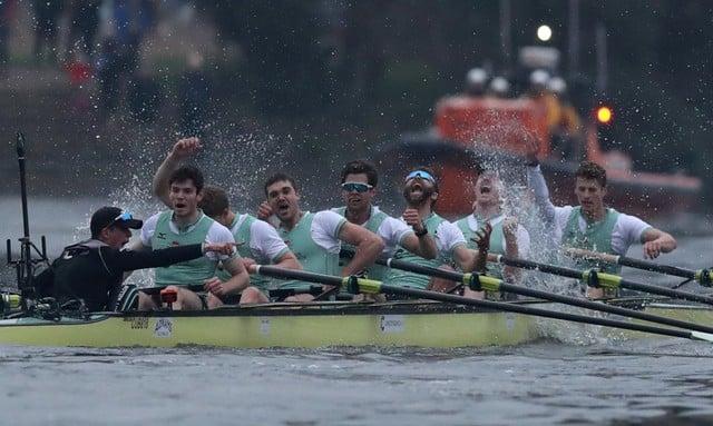 Cambridge dominate Oxford in boat race