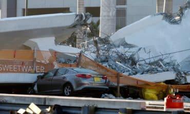 Florida school aware of bridge crack before collapse that killed six