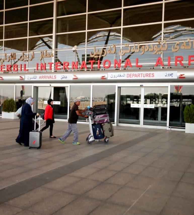 Iraq lifts ban on intl flights to Kurdistan airports
