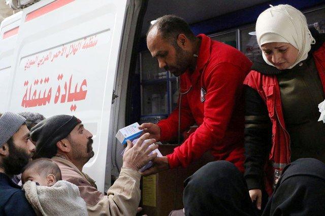 Damascus intensifies Ghouta assault in bid to cut enclave in half