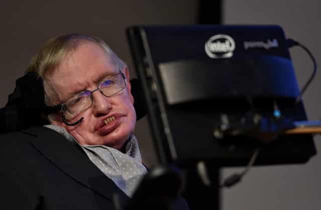Physicist Stephen Hawking dies at 76