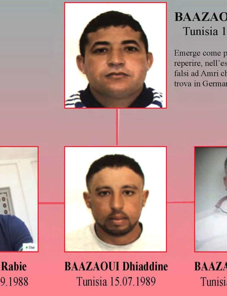 Italy arrests five Tunisians in anti-terror swoop