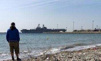 Iwo Jima docks at Limassol port