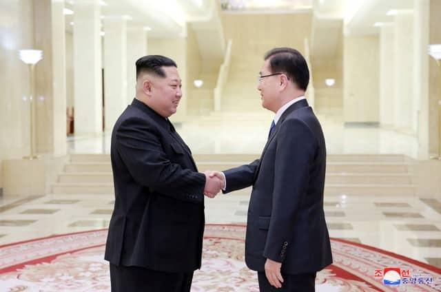 Trump cites progress over N. Korea willingness to talk (Update 2)
