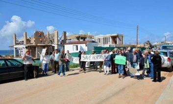 Tempers run high at Peyia sea caves meeting