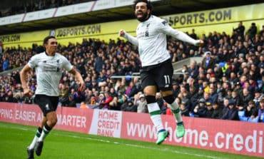 Late Salah strike gives Liverpool win at Palace