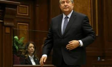 Armenian parliament elects ex-PM Sarkissian as president