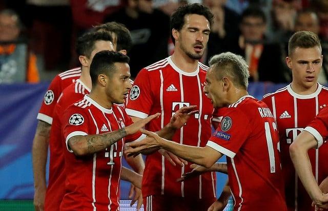 Bayern's Alaba, Vidal ruled out against Sevilla