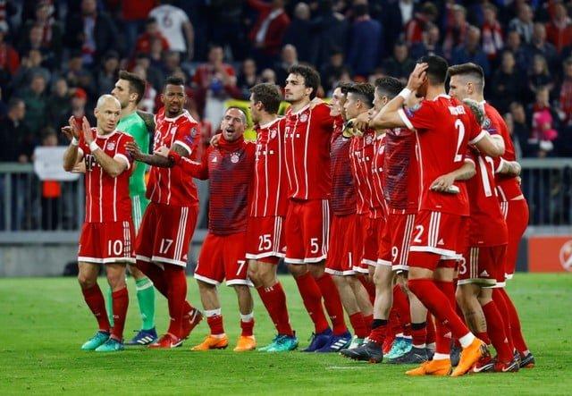 Bayern get past Sevilla into Champions League last four