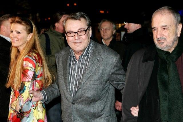 Oscar-winning director Forman dies at 86