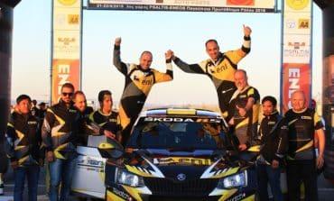 Third consecutive win for Petrolina Racing Team  at Cyprus Championship Rally