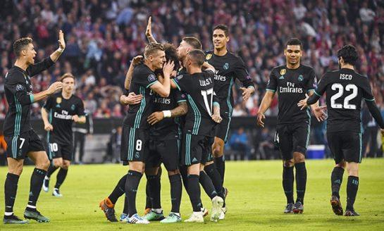 Real Madrid snatch 2-1 comeback win at Bayern Munich